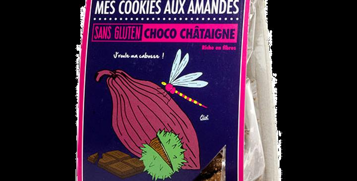 Biscuit DAO - Aux amandes choco châtaigne - 90 gr