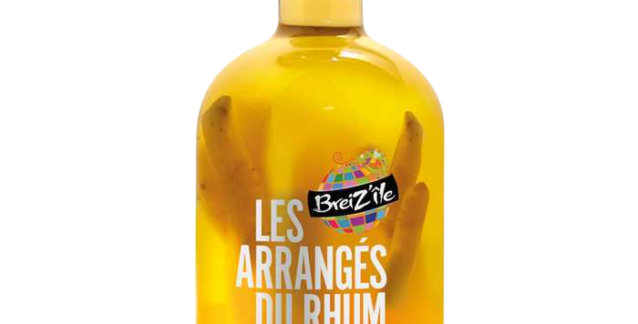 Rhum Les Arrangés Ananas Agrumes 28° 70cl