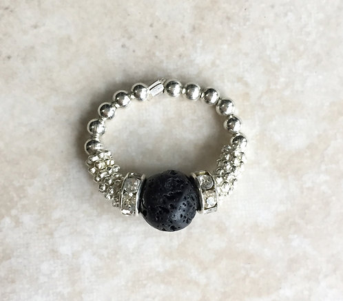Lava Crystal Ring
