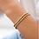 Thumbnail: Gold Bead Bracelet