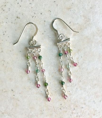 Tourmaline Goddess Earrings