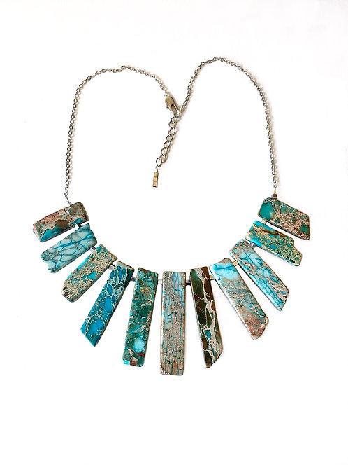 Turquoise Goddess Necklace