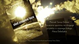 Sled zmajeve tace - Slovenian edition of my first novel
