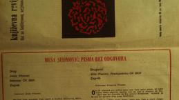 Prozne Žalice, Književna revija 1989