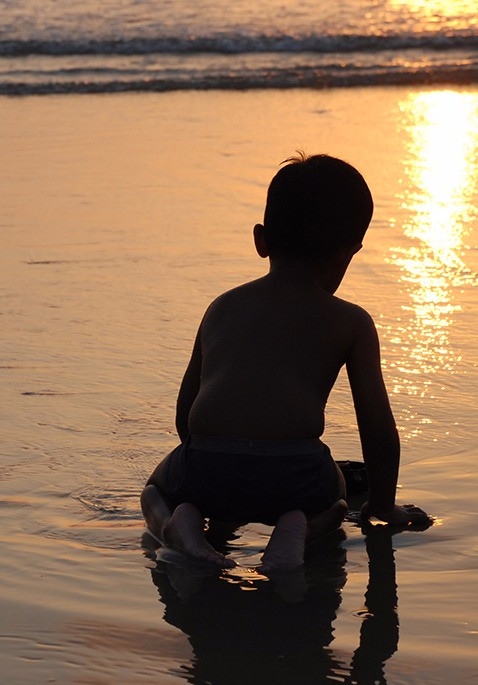 Pray on the water