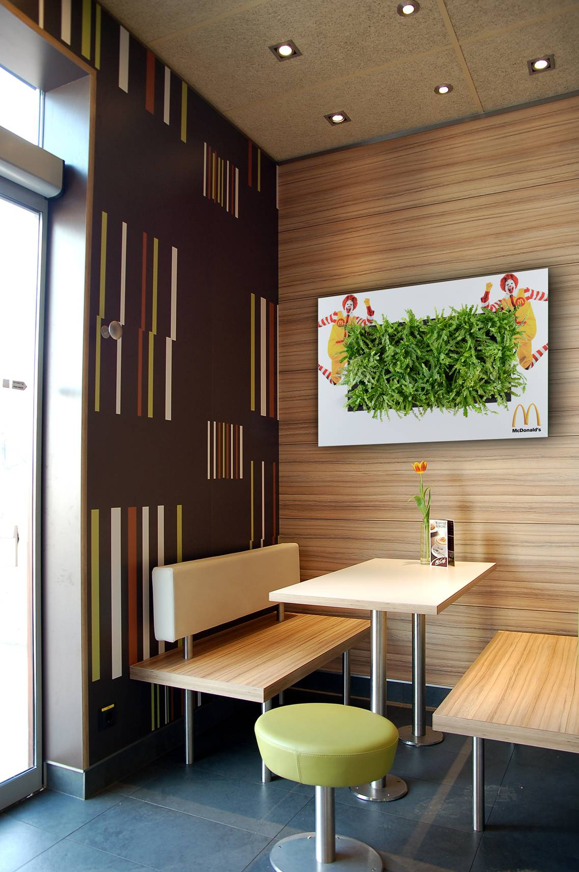 Vertical Gardens Can Be Customized!