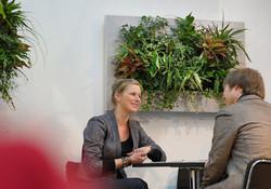 Employees Love Vertical Gardening!