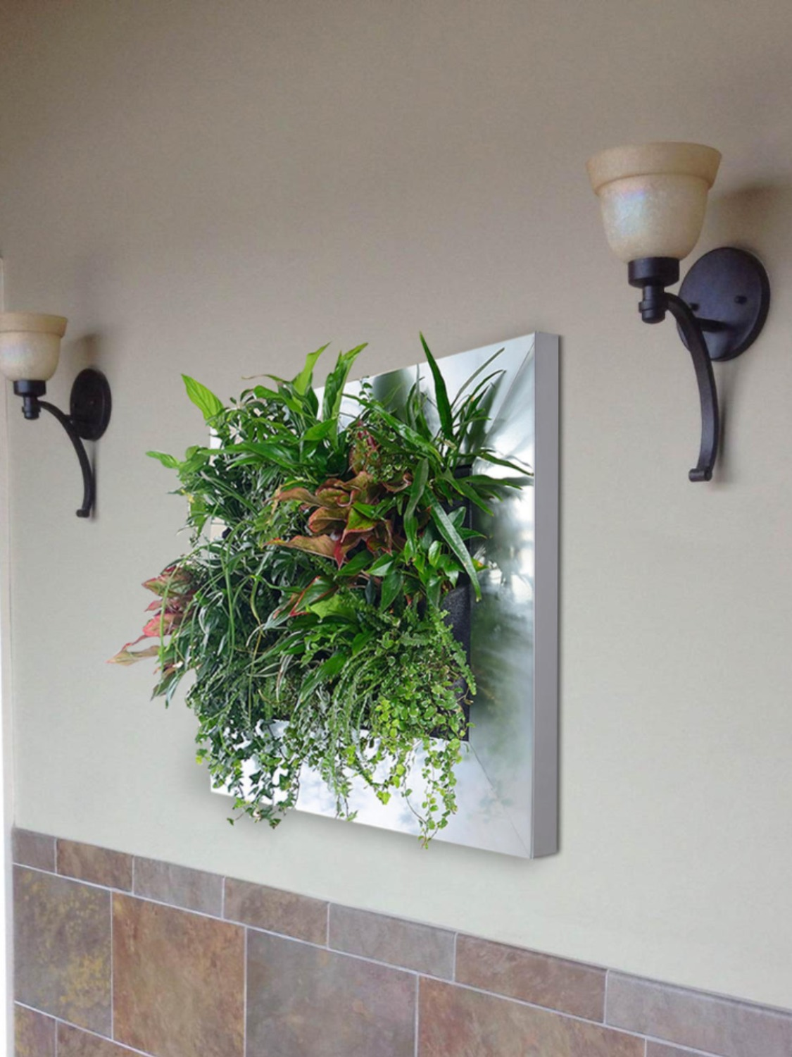 Vertical Gardens Come In Many Sizes!