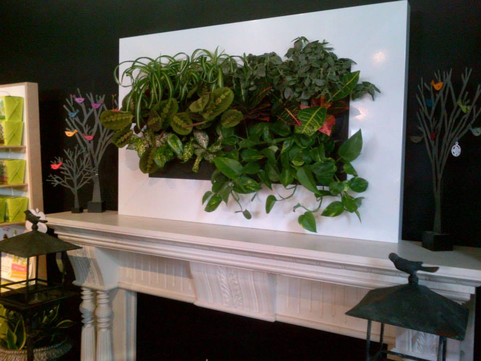 Vertical Gardens Can Go Anywhere!