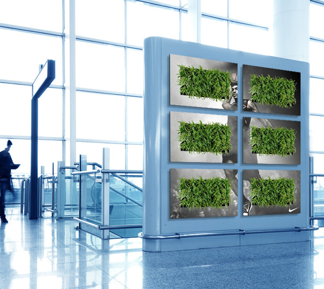 Vertical Gardens Make a Statement!