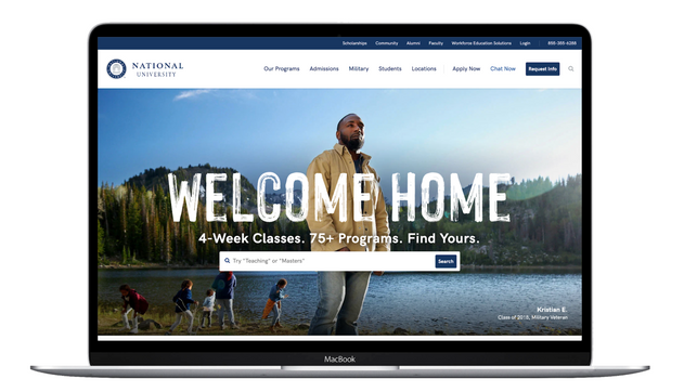 National University Homepage