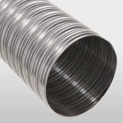 Tubage flexible liss pour conduit de cheminée, tuber un conduit de fumée, tubage pour chaudières à condensation, tubabe poêle à bois, tubage poêle à pellet, tubage ten, flexliss, flexible de cheminée