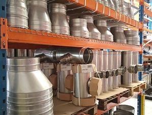 Nous stockons en ile de france l'ensemble de notre gamme de conduits de cheminée, tuyaux émaillés pour poêles à bois, tubages de conduits de cheminée rigide ou flexible en inox, conduit de cheminée double paroi en inox, conduits 3CE, tuyaux ventouses concentriques,raccordements en inox 304 ou inox 316 et souches de toit métalliques.