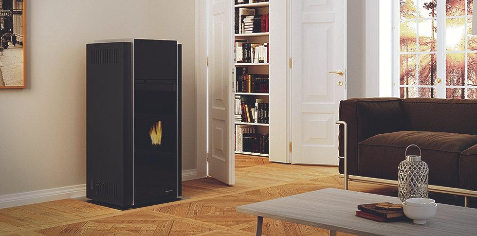 les po les pellet silencieux po le. Black Bedroom Furniture Sets. Home Design Ideas