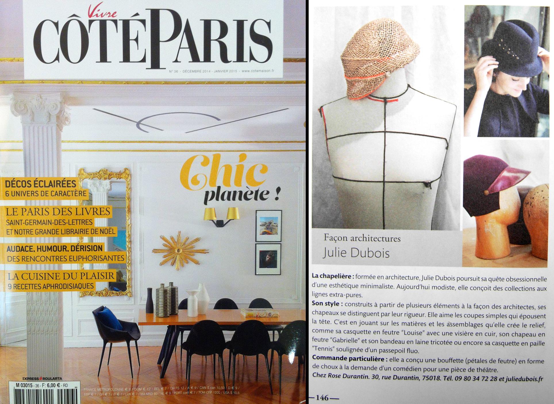 Dans Côté Paris