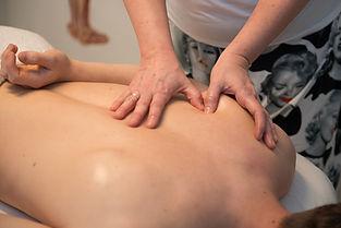 Massage skulder
