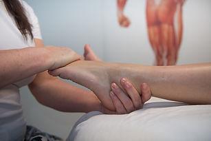 Fod- og læg massage