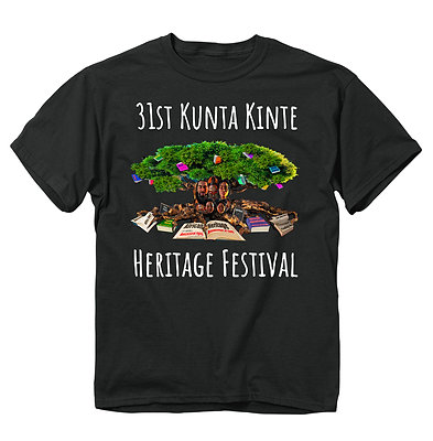 31st Black Kunta Kinte T-Shirt