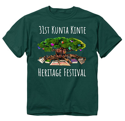 31st Forest Green Kunta Kinte T-Shirt