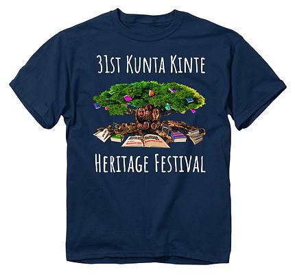 31st Navy Blue Kunta Kinte T-Shirt