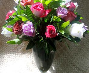 Arranjo diversas flores