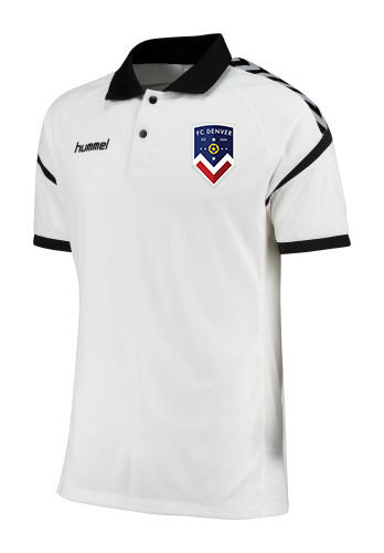 AUTHENTIC CHARGE FUNCTIONAL POLO WHT with FCD Badge