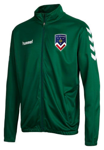 CORE POLY JACKET GRN with FCD Badge