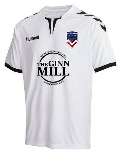 REPLICA CORE SS JERSEY FCD WHITE GINN MILL