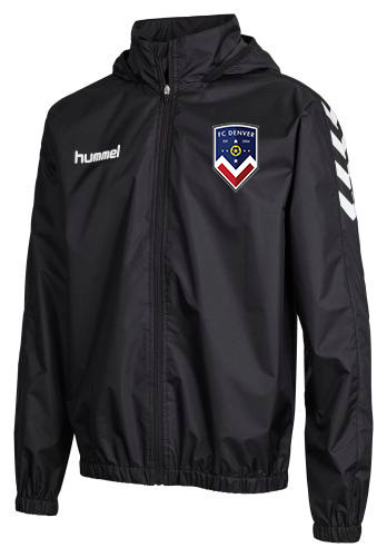 CORE SPRAY JACKET BLK with FCD Badge