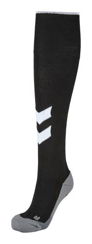 FUNDAMENTAL SOCCER SOCK BLACK/WHITE FCD