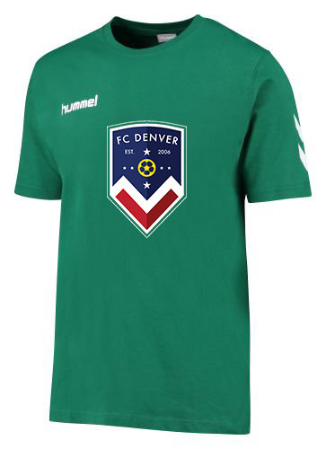 FCD CORE COTTON TEE GRN with FCD Badge