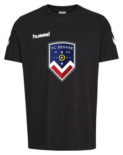 FCD CORE COTTON TEE BLK with FCD Badge