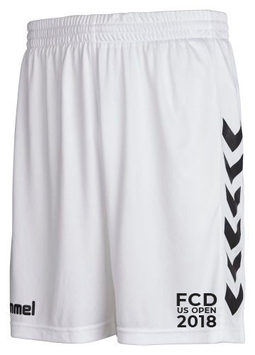 CORE POLY SHORTS WHT with FCD US OPEN