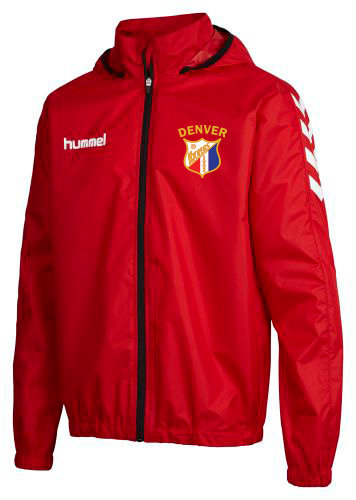 CORE SPRAY JACKET RED with Kicker Badge