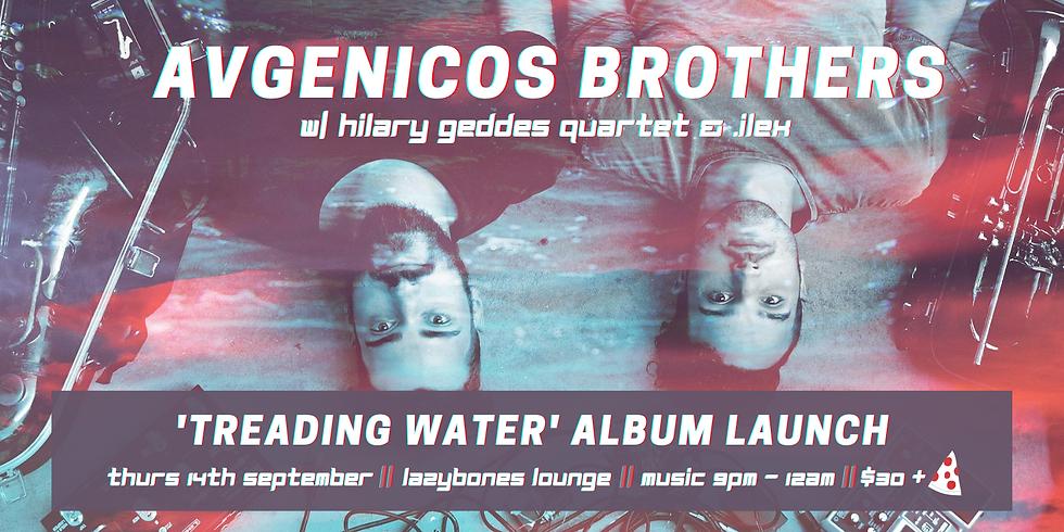 Avgenicos Brothers 'Treading Water' Album Launch // Hilary Geddes 4tet // .ilex