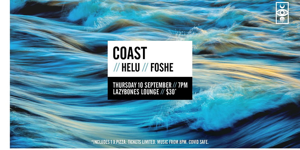 Aac//Lzybnz: COAST, HELU and Foshe (sold out)