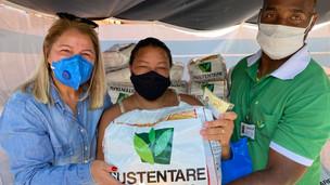 Pandemia: empresa de saneamento vai doar cestas básicas para ONG no Sol Nascente