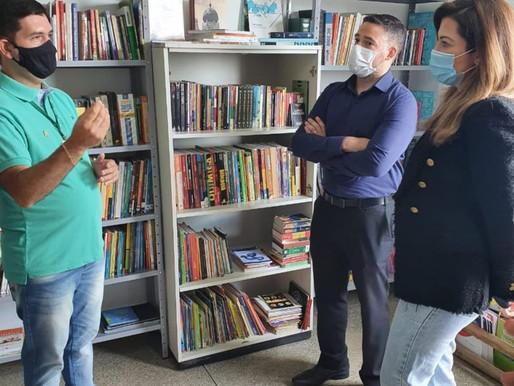 Jovens socioeducandos terão Espaço de Leitura em Ceilândia