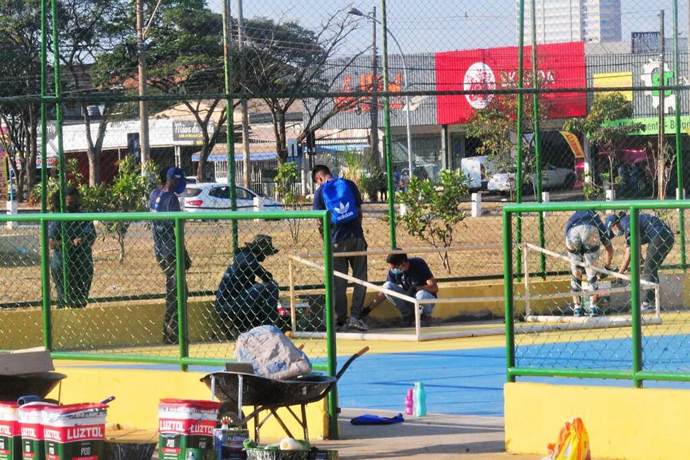 38 espaços públicos renovados em Ceilândia