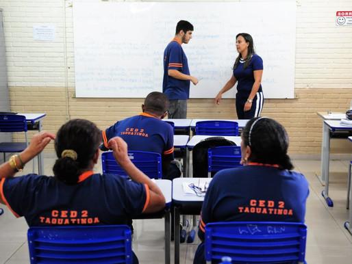 Inscrições para a Educação de Jovens e Adultos estão abertas