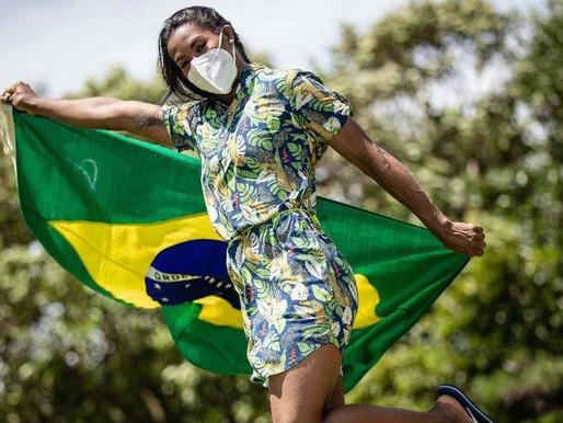 Olimpíadas: Quem é Ketleyn Quadros, porta-bandeira de Ceilândia em Tóquio
