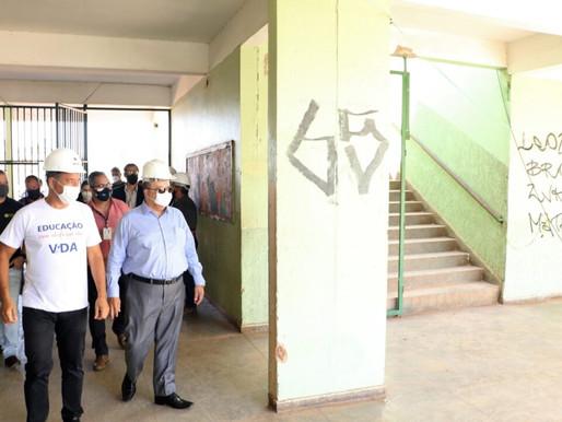 GDF investe R$ 11 milhões para reabrir duas escolas de Ceilândia