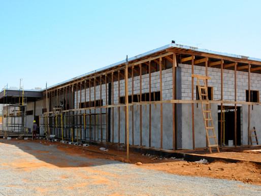 Hospital de Campanha de Ceilândia tem 65% das obras concluídas