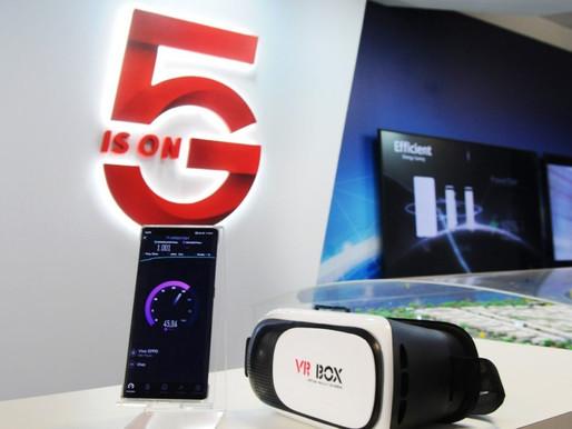 O futuro 5G marca presença em Brasília