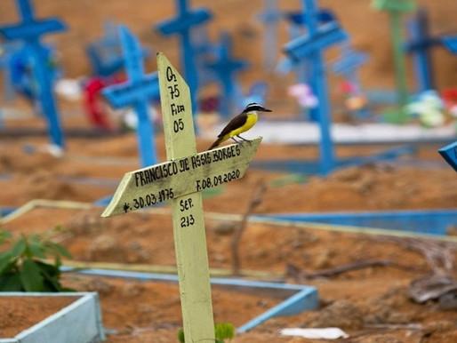 A triste marca de 200 mil mortes por Covid-19 no Brasil