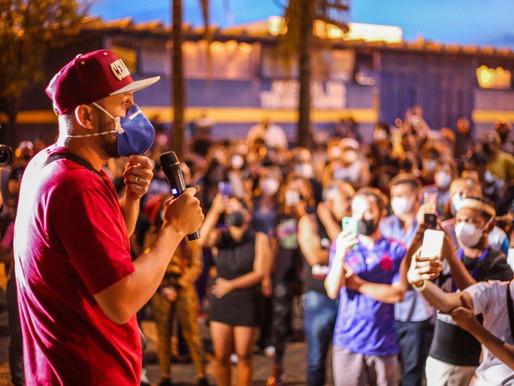 Comunidade protesta contra ameaça de encerramento do projeto Jovem de Expressão