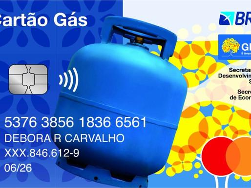 GDF faz busca ativa de beneficiários para o Cartão Gás