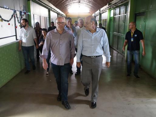 Governador em exercício e secretários visitam Ceilândia
