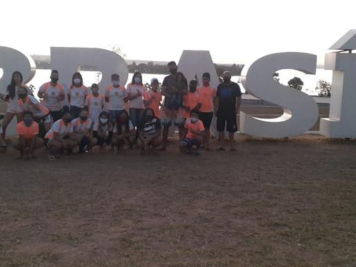 Crianças e adolescentes de Ceilândia visitam pontos turísticos da capital