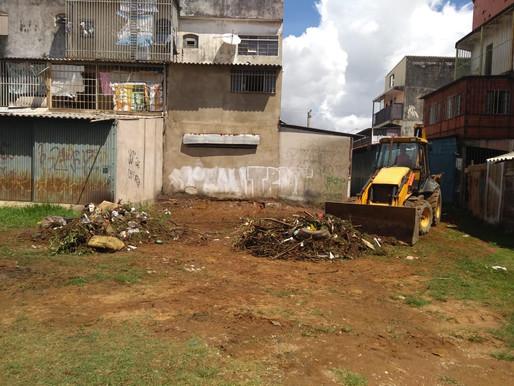 Administração de Ceilândia retira mais de 47 toneladas de lixo e entulho da região